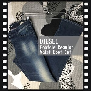 DIESEL • Bootzee Regular Waist Boot Cut Jeans